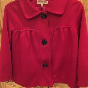 Women's Notations Red Jacket petite medium